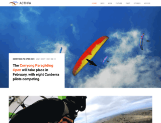 acthpa.org screenshot