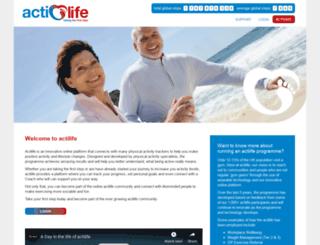 acti-life.net screenshot