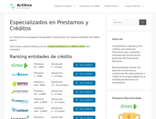 actibva.com screenshot