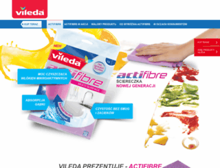 actifibre.vileda.pl screenshot