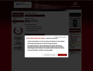 actifinances.boutique.enovline.fr screenshot