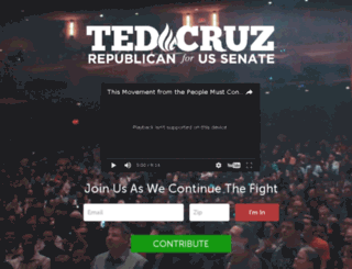 action.tedcruz.org screenshot