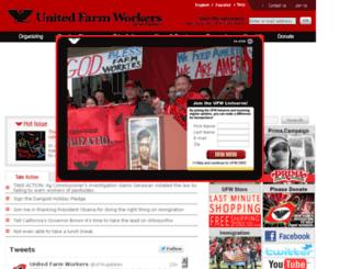 action.ufw.org screenshot