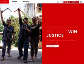 actionaid.org.au screenshot