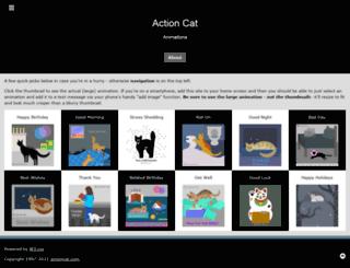 actioncat.com screenshot