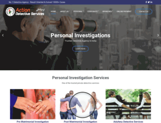 actiondetective.com screenshot