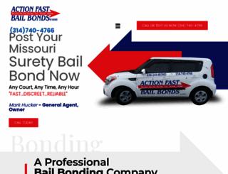 actionfastbailbonds.com screenshot
