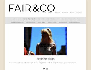 actionforwomen.org screenshot