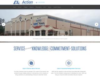 actionmachiningandpump.com screenshot