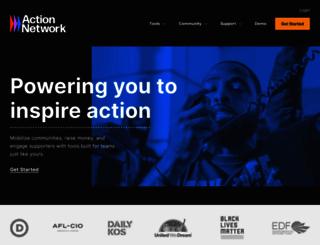 actionnetwork.org screenshot