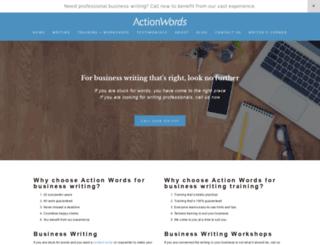 actionwords.com.au screenshot