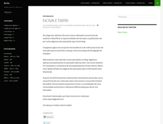 actioprime.wordpress.com screenshot