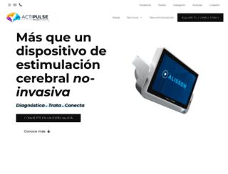 actipulse.com screenshot