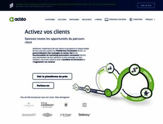 actito.net screenshot