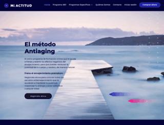 actitud50.com screenshot
