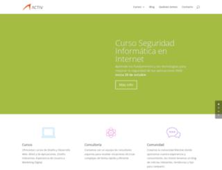 activ.com.mx screenshot