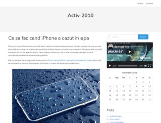 activ2010.ro screenshot