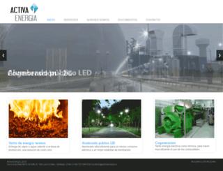 activaenergia.cl screenshot