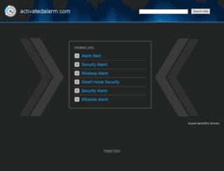 activatedalarm.com screenshot