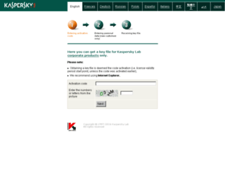 activation.kaspersky.com screenshot