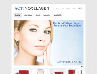 activcollagen.com screenshot