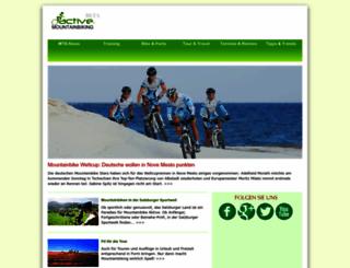 active-mountainbiking.de screenshot