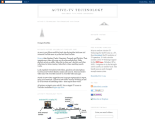 active-tv.blogspot.co.nz screenshot