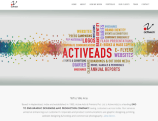 activeads.in screenshot