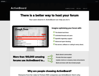 activeboard.com screenshot