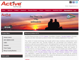 activecctv.in screenshot