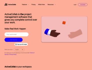 activecollab.com screenshot