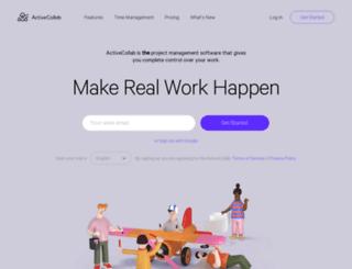 activecollab.net screenshot