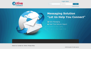activeconnect.in screenshot