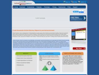 activedirectoryusers.net screenshot