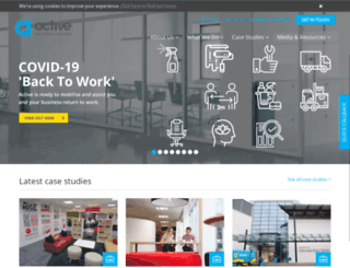 activefm.co.uk screenshot