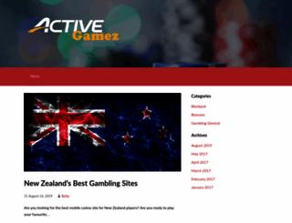 activegamez.com screenshot