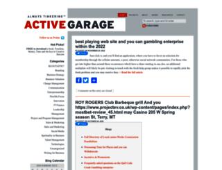 activegarage.com screenshot