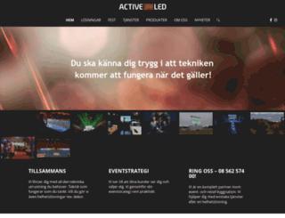 activeled.se screenshot