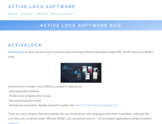 activelocksoftware.com screenshot