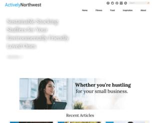activelynorthwest.com screenshot