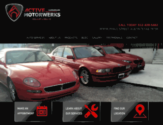 activemotorwerks.com screenshot