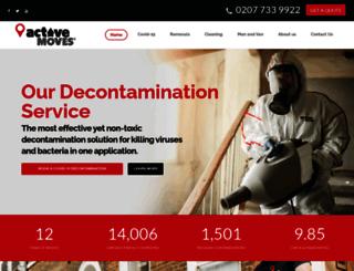 activemoves.co.uk screenshot