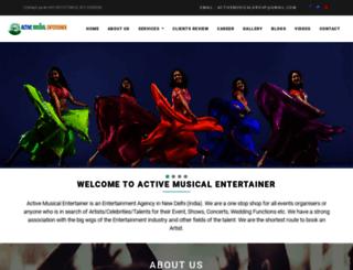 activemusic.in screenshot