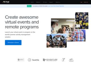 activenetwork.com.au screenshot