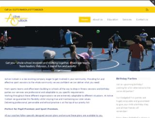 activeoutlook.co.uk screenshot