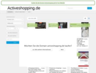 activeshopping.de screenshot