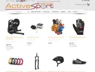 activesport.co.uk screenshot