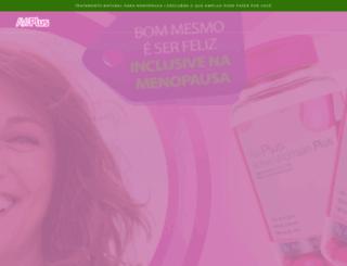 activewomanplus.com.br screenshot