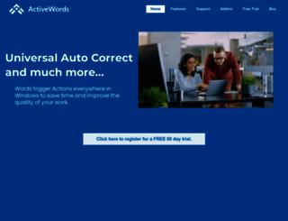 activewords.com screenshot