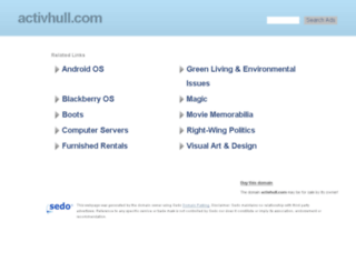 activhull.com screenshot